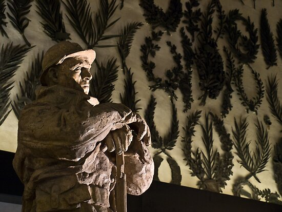 French Soldier Statue by Lozzle