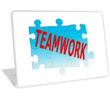 Teamwork Jigsaw Puzzle Laptop Skin