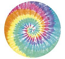 Tie Dye Pattern Photographic Print