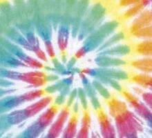 Tie Dye Pattern Sticker