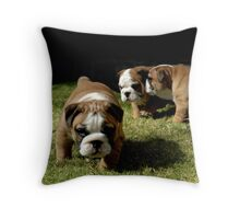 ~I TOLD YOU NO PHOTOS~ Throw Pillow