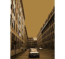 Narrow street (architecture series)!... Photographic Print