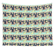 MODER block PATTERN, abstract, art Wall Tapestry