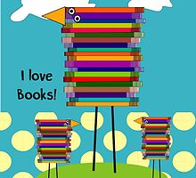 Book Lovers Book Birds by Gail Gabel, LLC