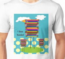 Book Lovers Book Birds Unisex T-Shirt