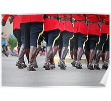 Canada Day Parade - Leduc RCMP Poster