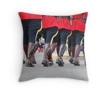 Canada Day Parade - Leduc RCMP Throw Pillow