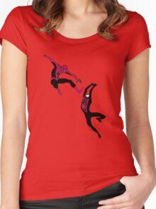 Spider-Men Women's Fitted Scoop T-Shirt