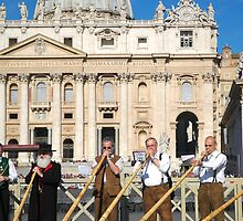 Vatican musicians  by Hadleigh Thompson