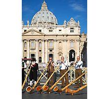 Vatican musicians  Photographic Print