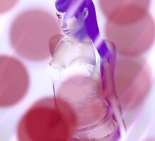 Lavender/Red by Simon Harris