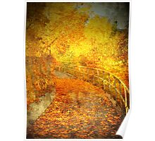 The Autumn Curve Poster
