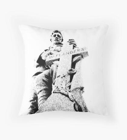 In Flanders Field Throw Pillow