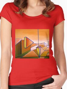 Emperor's Vision 1.2 Women's Fitted Scoop T-Shirt