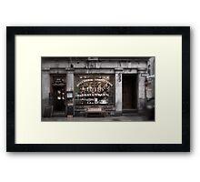 'Charcuterie ma chere'... Framed Print