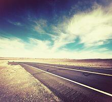 Road in the Desert by Giorgio Fochesato