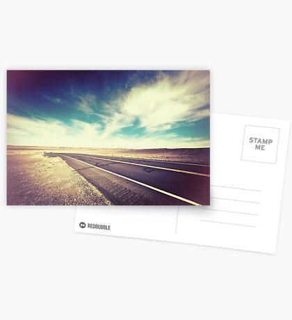Road in the Desert Postcards
