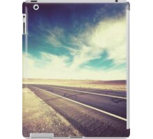 Road in the Desert iPad Case/Skin