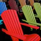 Colorful Chairs by Ray4cam