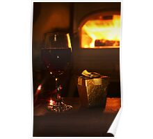 Warmth and Wine Poster