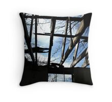 Through the Roof Throw Pillow