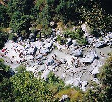 Alcantara gorge (Gola d'Alcantara), Sicily, Italy by Igor Pozdnyakov