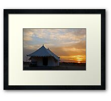 Sunrise at Khuri Framed Print