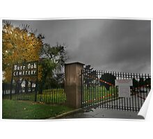 Burr Oak Cemetery - A Real Horror Story Poster
