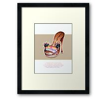 Little Profiles Sole Searching Framed Print
