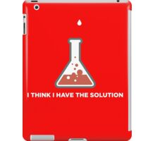 I THINK I HAVE THE SOLUTION.. CHEMIST iPad Case/Skin
