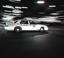 Stereoscopic Taxi in New York by Giorgio Fochesato