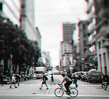 Stereoscopic San Francisco People by Giorgio Fochesato