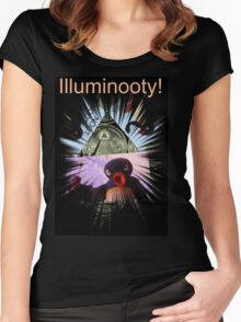 Illuminooty! Women's Fitted Scoop T-Shirt