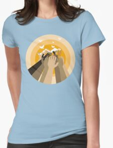 Kylie - All The Lovers Womens Fitted T-Shirt