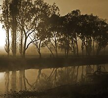 The Drying River Bed by Millesie