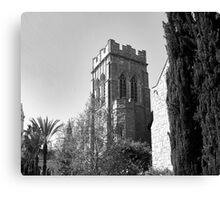 CHURCH TOWER Canvas Print