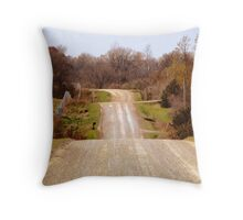 Rolly Coaster Country Throw Pillow