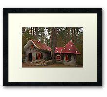 Gnome Village Framed Print