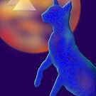 'Bast'  Cat Variations #1, Egyptian by luvapples downunder/ Norval Arbogast