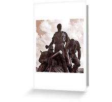 Heroes of War. Greeting Card