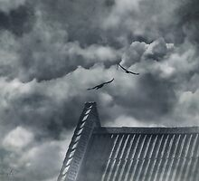 Clouds got in my way by © Kira Bodensted