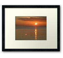 Coastal Sunrise Framed Print