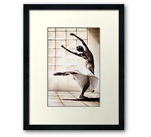 Dance Finess Framed Print