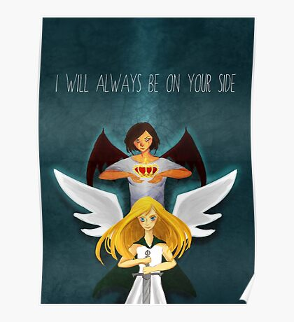 I Will Always Be On Your Side Poster
