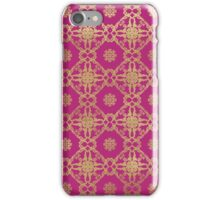 Boho in Pink iPhone Case/Skin