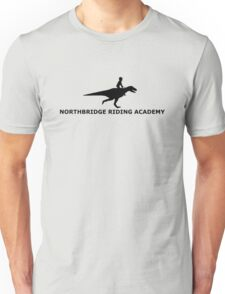 dinosaur riding academy Unisex T-Shirt