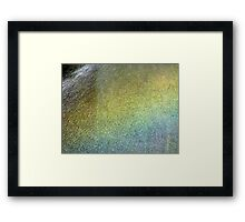 Enter the Rainbow Framed Print