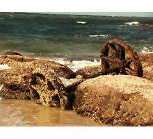 Forgotten Wagon Photographic Print