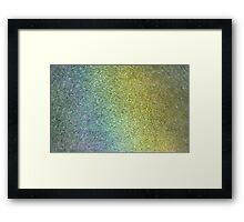 Enter the Rainbow II - detail Framed Print