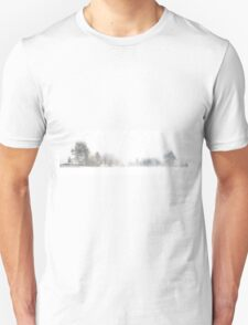 A Line of Trees in the Snow T-Shirt
